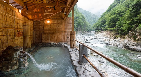 和の宿 ホテル祖谷温泉 露天風呂