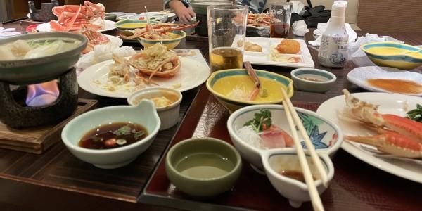 清風荘 風和里 夕食