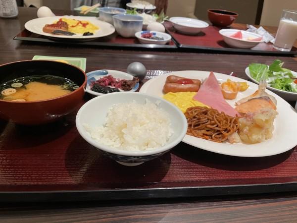 清風荘 風和里 朝食