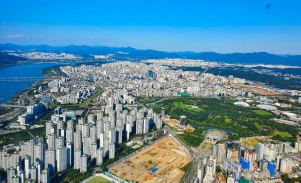 韓国 ソウル風景