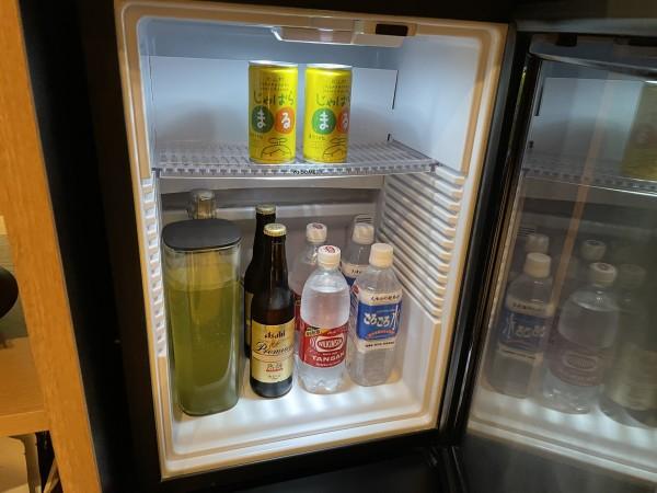 ふふ奈良 冷蔵庫