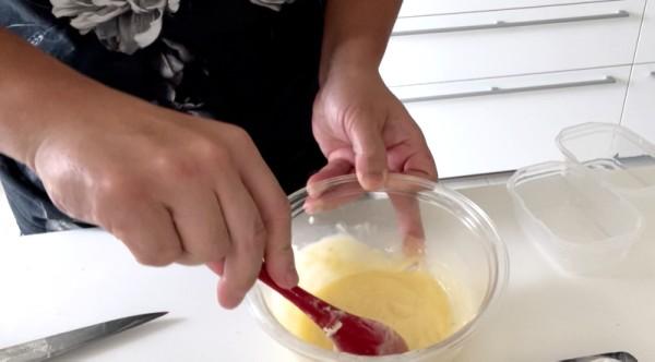 ガーリックバター作り