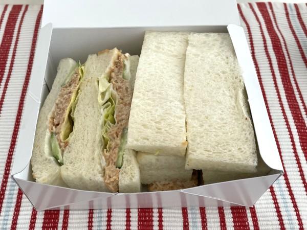 支留比亜 サンドイッチ